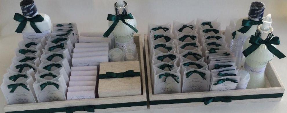 Kit toilette  personalizado feminino e masculino